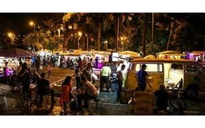 گردشگری شبانه به استتار «خیابان غذا» در کارگاه مترو منجر شد