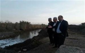 اجرای طرح لایروبی انهار و رودخانههای شهرستان ورامین