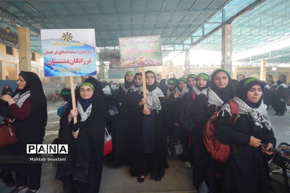 افتتاحیه اردوهای راهیان نور دانشآموزی استان بوشهر