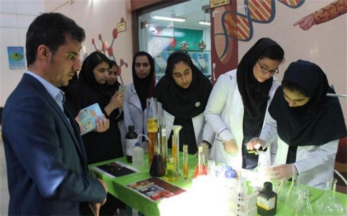 روز آزمایشگاه در پژوهشسرای دانش آموزی شهید خوشبخت  بوشهر برگزار شد