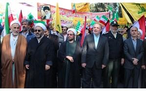تجمع انقلابی دانش آموزان قزوینی در روز 13 آبان ماه