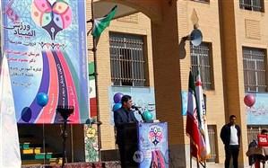 المپیاد درون مدرسه ای نماد مشارکت دانش آموزان است/ جامعه سالم در گرو مدرسه سالم و شاد است