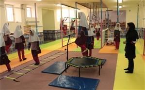 افتتاح کلاس ویژه درس تربیت بدنی در 3 دبستان استان یزد