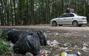 جنگلی از زباله و بیماریهای مردم سراوان