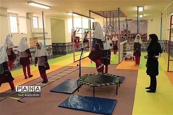 افتتاح کلاس ویژه درس تربیتبدنی در دبستان قرآنی پاپلی یزد