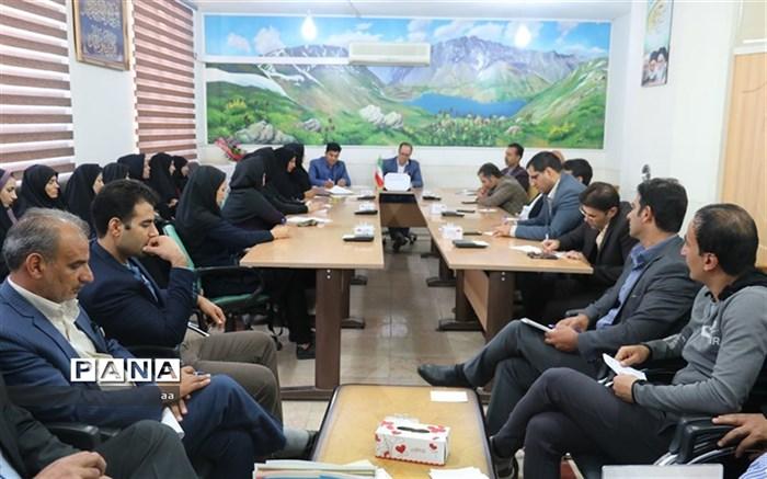 برگزاری جلسه توجیهی انجمن های ورزشی