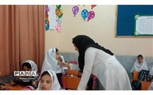 اجرای طرح وارنیش (فلورایدتراپی) درمدارس آبادان