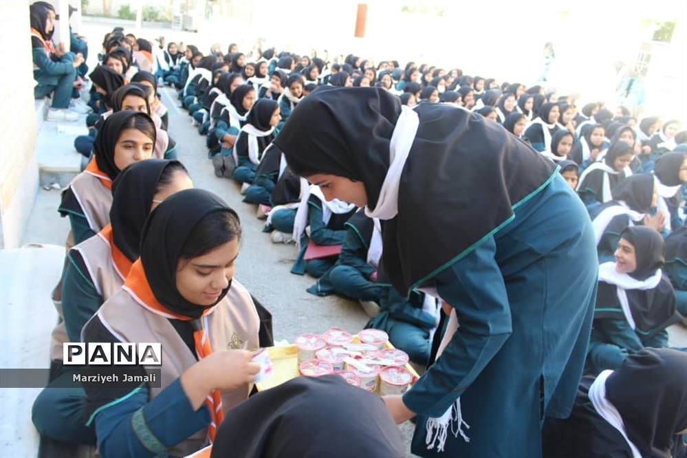 برگزاری جشن وحدت در مدرسه قاضی گلهدار
