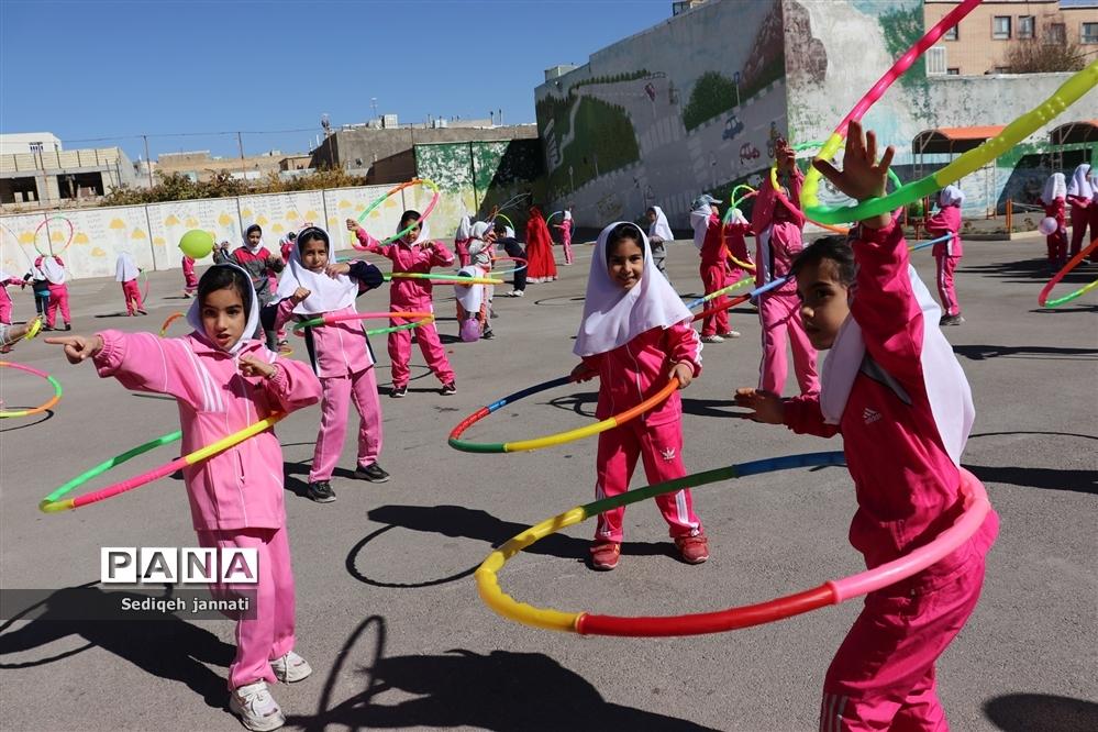 برگزاری المپیاد درون مدرسه ای در آباده
