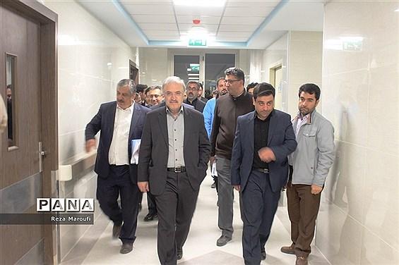 بازدید وزیر بهداشت و درمان از بیمارستان  فوق تخصصی  زنان ارومیه