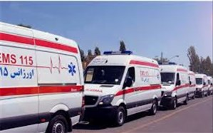 استقرار واحدهای عملیاتی اورژانس  به علت آلودگی هوا در اماکن پرتردد البرز