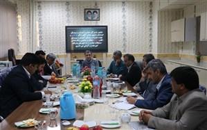 نشست هم اندیشی مدیران آموزش و پرورش قطب شهید دهقان در تربت جام برگزار شد