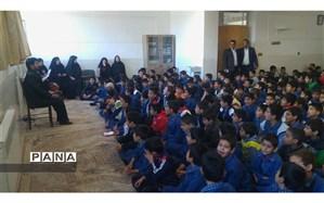برگزاری  ویژه برنامه جنگ شادی به مناسبت هفته وحدت در دبستان حضرت قاسم(ع)
