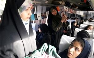 دانش آموزان ناحیه 2 شهر اصفهان به اردوی راهیان نور اعزام شدند