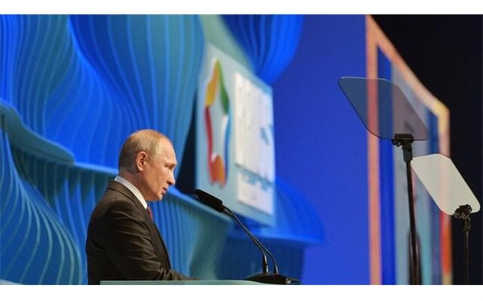 پوتین در نشست بریکس سیستم حمایتی از صنایع داخلی و تحریمها را محکوم کرد