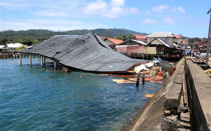 زلزله شدید، اندونزی را لرزاند