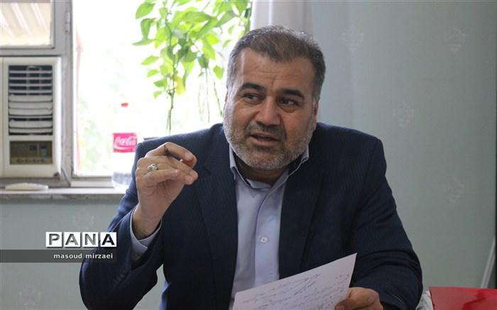 حسنعلی پور رئیس سازمان دانش آموزی استان قزوین