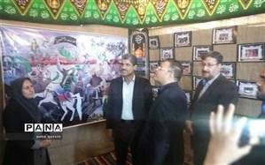 سرای سعدالسلطنه قزوین میزبان نمایشگاه هویت کودکان ایران اسلامی/ بازدید معاون روابط عمومی وزارت آموزش و پرورش از نمایشگاه