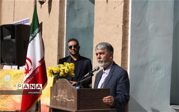 بازدید وزیر فرهنگ و ارشاد اسلامی از رئیس آباد، روستای دوستدار کتاب