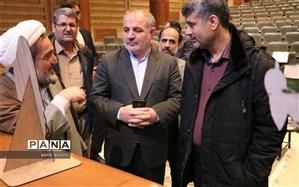 بازدید رئیس مرکز هماهنگی حوزه وزارت آموزش و پرورش از محل برگزاری همایش ملی هویت کودکان ایران اسلامی