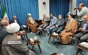 دیدار وزیر آموزش و پرورش با امام جمعه قزوین