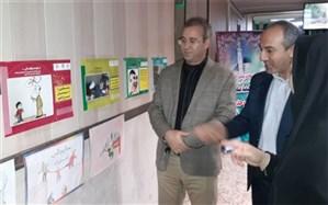 برپایی نمایشگاه عکس مبارزه با مواد مخدر در ناحیه دو شهر ری