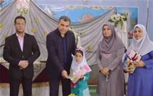 مراسم آغازین آموزش رسمی قرآن کریم پایه اول ابتدایی در مدارس شهرستان دشتستان برگزار شد