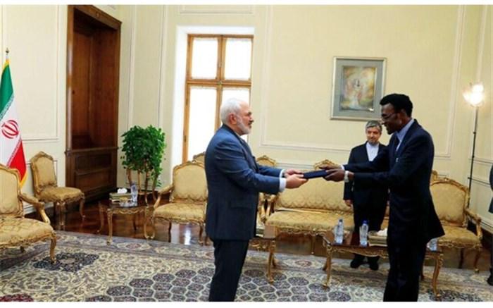 دیدار سفیر جدید زیمبابوه با ظریف