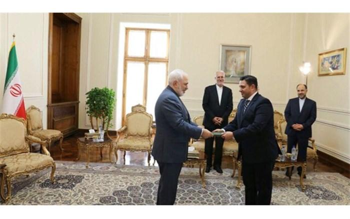 دیدار رئیس جدید دفتر حافظ  منافع مصر در تهران با ظریف