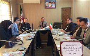 اولین جلسه کمیته طرح آموزش مهارت های زندگی در مدارس استعدادهای درخشان برگزار شد