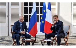 گفتوگوی پوتین و ماکرون در مورد تحولات سوریه