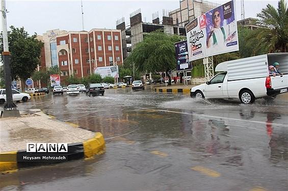 بارندگی  در بوشهر