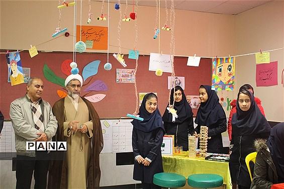 افتتاح کافه کتاب در دبیرستان دخترانه فرزانگان (دوره اول) شهرستان بجنورد