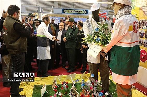 افتتاح نمایشگاه دستاوردهای ۴۰ ساله بسیج در آذربایجان غربی