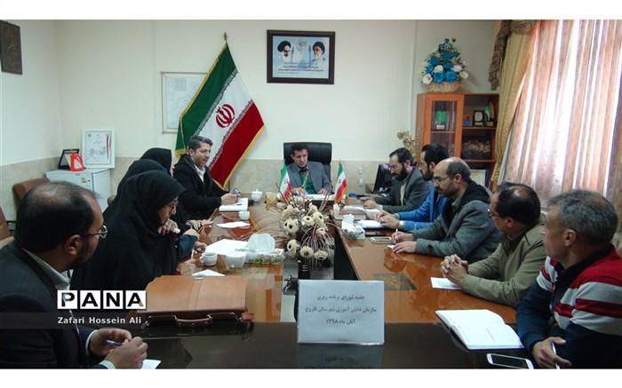 برگزاری جلسه شورای برنامه ریزی سازمان دانش آموزی در فاروج