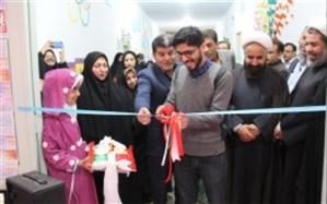 افتتاح سالن ورزشی دردبستان شهید قائدی