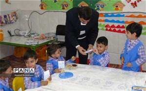 توزیع خمیردندان در مدارس پیش دبستانی شهرستان برخوار