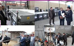 بازدید فرماندار شهرستان تفت از چند واحد تولیدی
