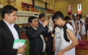 فینال مسابقات بسکتبال دانش آموزی پسران دشتستان برگزار شد