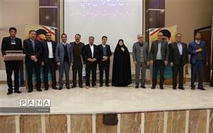 آئین تکریم ومعارفه در اداره کل آموزش و پرورش استان چهارمحال وبختیاری برگزار شد