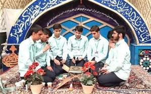 افتخار آفرینی دانش آموزان زنجانی در مسابقات همخوانی و مدیحه سرایی کشور