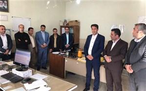 بازدید مدیرکل آموزش و پرورش استان از بخشهای مختلف اداره آموزش و پرورش شهرستان طارم