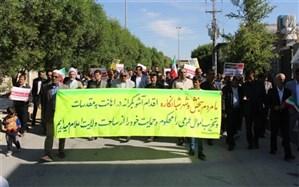 فرهنگیان و دانش آموزان اغتشاشات اخیر را محکوم کردند