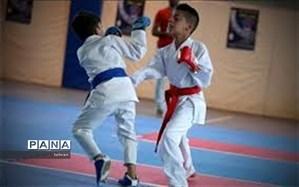 برگزاری مسابقات کاراته کشوری در مجموعه ورزشی تختی