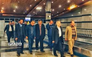 معاون پرورشی و فرهنگی وزیر آموزش و پرورش به اتفاق هیئت همراه وارد گلستان شد