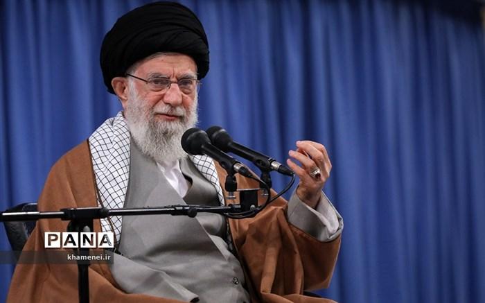 دیدار جمعی از تولیدکنندگان، کارآفرینان و فعالان اقتصادی با رهبر انقلاب اسلامی