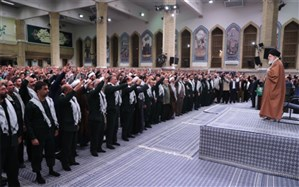 رهبر انقلاب: ملت ایران ثابت کرد قدرتمند و با عظمت است