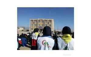 بیست و یکمین مانور سراسری ایمنی مقابل زلزله در فیروزه برگزارشد