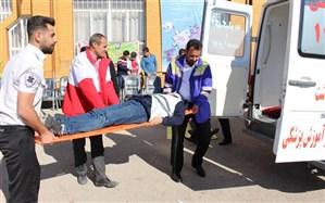 بیست و یکمین مانور سراسری زلزله و ایمنی در  مدارس استان کهگیلویه و بویراحمد برگزار شد