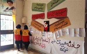 بیست و یکمین رزمایش زلزله و ایمنی در مدارس استان سمنان برگزار شد